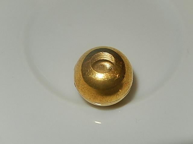 MSM304R050 1 st goudkleurig magneetslot 13x12 mm – binnenmaat 5 mm