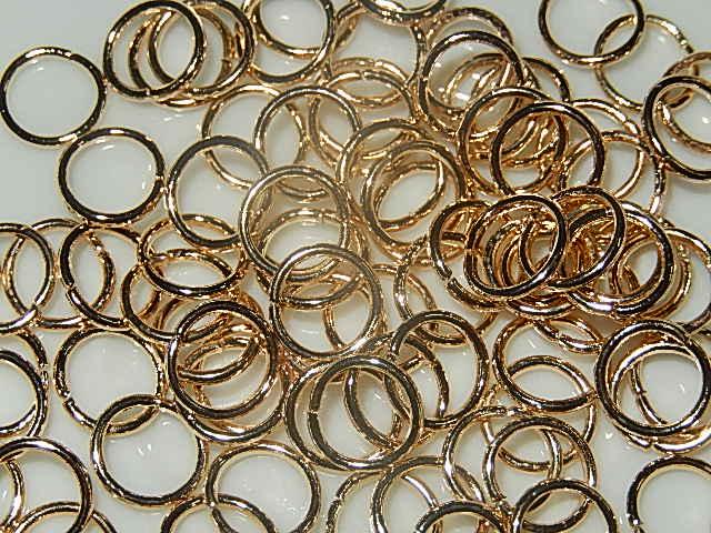 BRM301R080Q DQ buigringen 100 st goud rond 8 mm