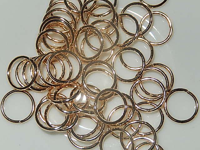 BRM303R100Q DQ buigringen 50 st goud rond 10 mm