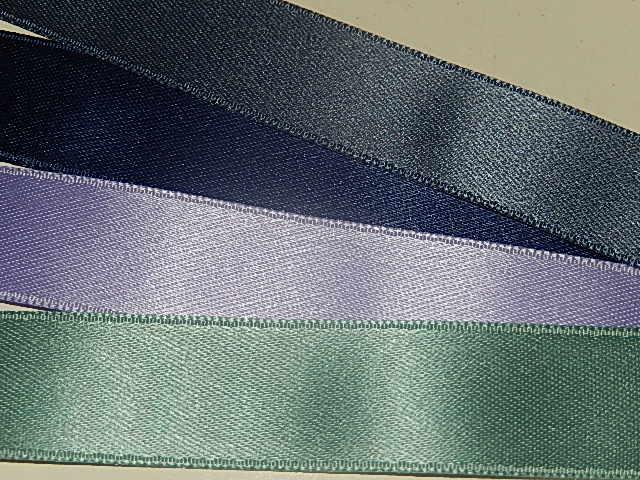 LS1600 Satijnband deluxe double face 16 mm breed meerdere kleuren