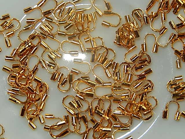 DBM301X05 Draadbeschermers 10 st goud 5x4 mm
