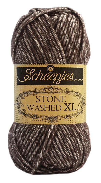 Scheepjeswol Stone Washed XL - 869 Obsidian