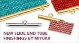 SEM001X15 Slide end tubes miyuki 15 mm zilverkleurig_