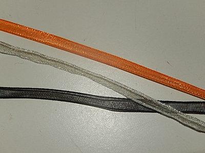 LO0300 Organza lint 3 mm breed meerdere kleuren