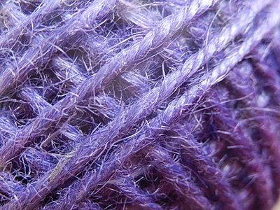 DRJ017 Natuurlijk sisal koord 1 meter lang donkerblauw 2 mm
