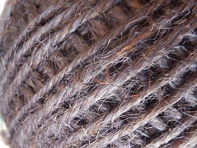 DRJ015 Natuurlijk sisal koord 1 meter lang dark purple 2 mm