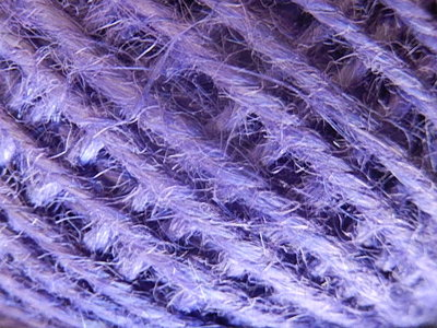 DRJ014 Natuurlijk sisal koord 1 meter lang purple 2 mm