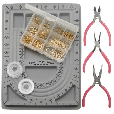 X9134 Sieraden startpakket basisbenodigdheden goud