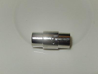 MSM004R060Q DQ Magneetslot 1 st antiek zilver 16x9 mm – binnenmaat 6 mm