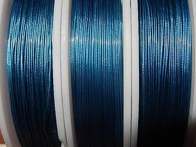 gecoat staaldraad grijsblauw