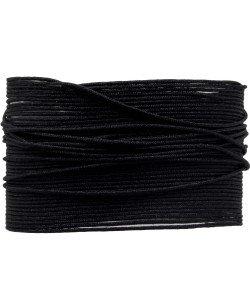 BA108 Macramé koord 0,8 mm 1 m kleur Black