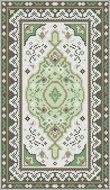 Borduurpakket Vloerkleed groen/bruin 144x246mm
